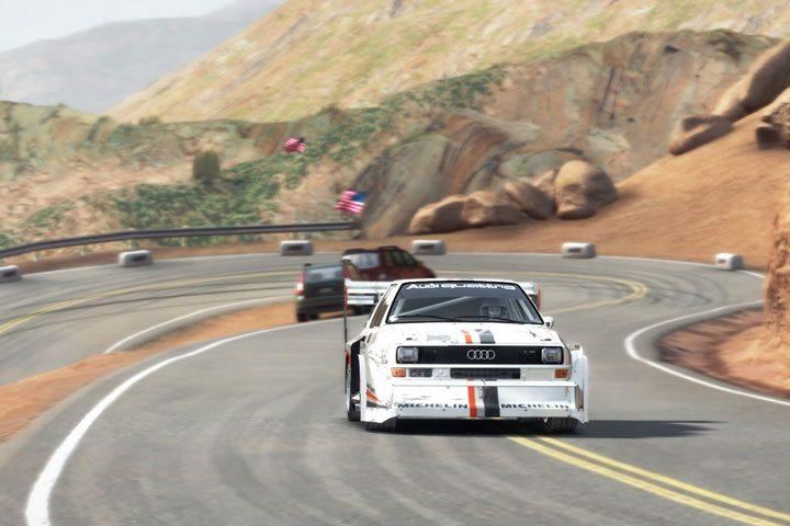 Dirt Rally - Pikes Peak stage 1 - Audi Quattro S1